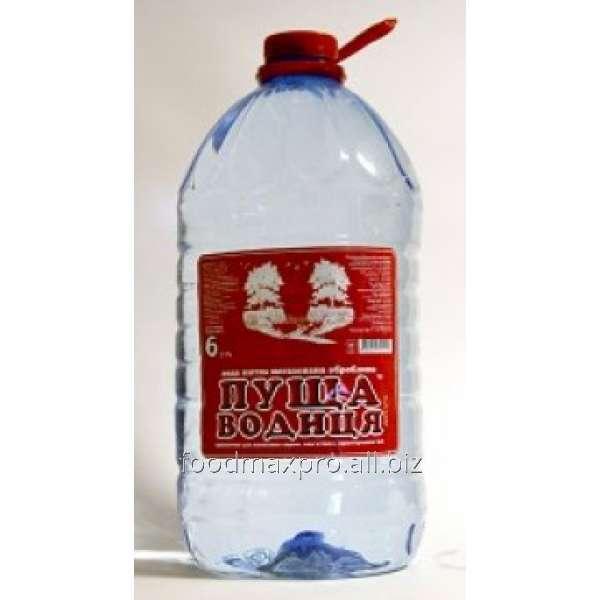 Купить Вода питьевая Пуща Водиця негазированная 6л