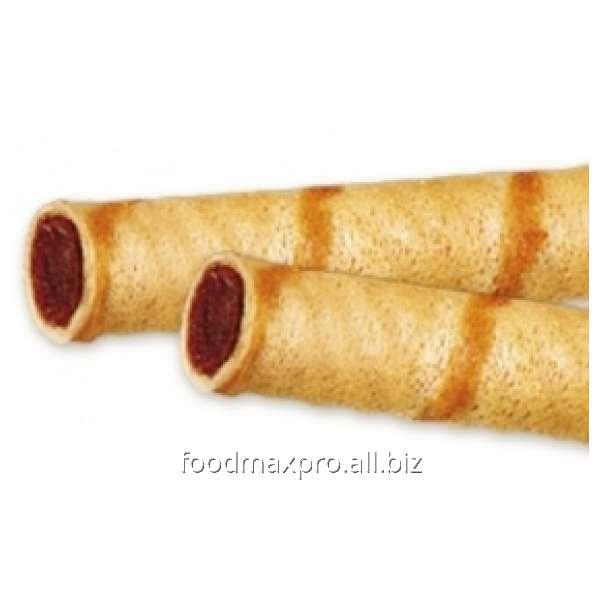 Трубочки вафельные ХБФ с какао кг