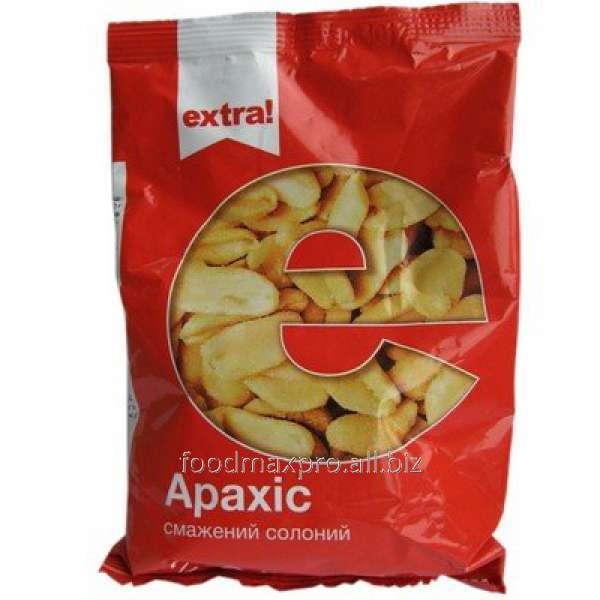 Арахис Extra! жареный соленый 200г