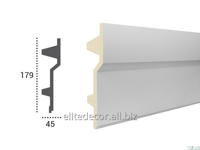 Купить Карниз KF707 для скрытого LED освещения. Материал: полиуретан (PU), коллекция: Tesori F-Series
