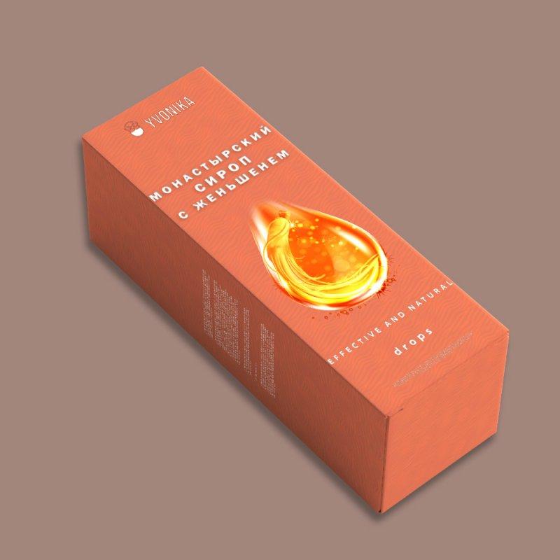 Монастырский сироп с женьшенем (сердечный). Фирменный магазин.