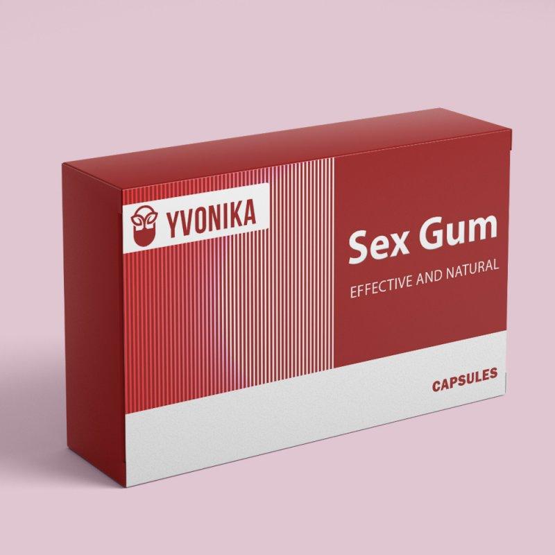 Возбуждающая жвачка Sex Gum Секс Гум