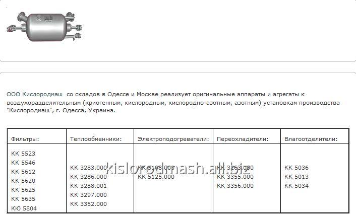 Кожухотрубный конденсатор WTK CF 500 Хабаровск