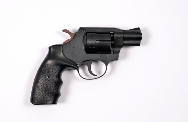 Травматический револьвер SAFARI 820G, черный/резина-металл