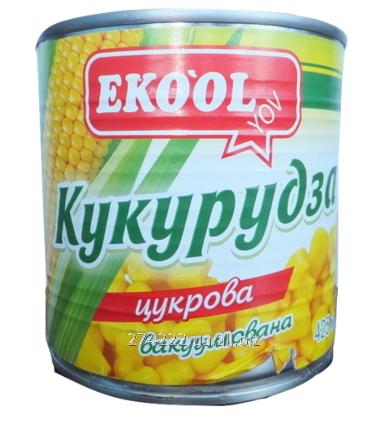 Купить Ekool Кукурудза цукрова жестяна банка 425мл