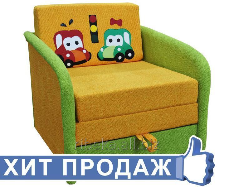 Диван мягкий детский Машинки (Малыш) 1