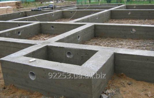 Купить Ленточный фундамент для жилого и промышленного строительства