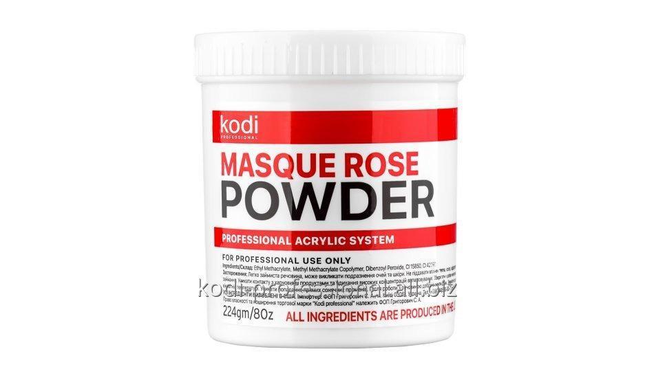 Masque Rose Powder Kodi professional 224 gr Матирующая акриловая пудра Роза