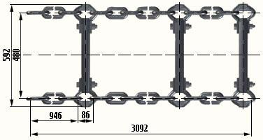 Тяговые цепи в скребкового конвейера фольксваген транспортер т4 электрика