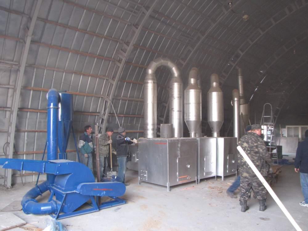 Купить Завод по производству брикета типа Pini-Key 320-380 кг/год