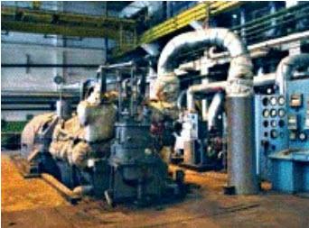 Турбины теплофикационные с производственным и отопительным регулируемыми отборами пара (ПТ)