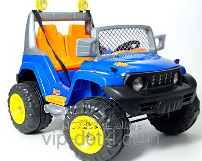 Electric Car Children S Double Jeep 481 Buy In Odessa