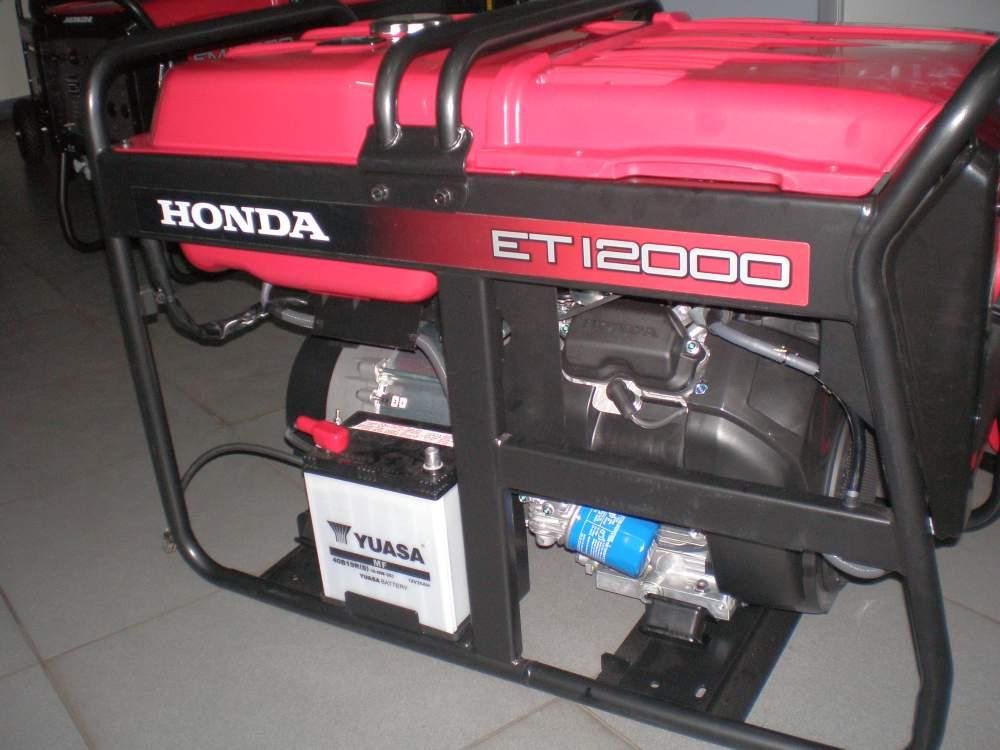 Бензогенераторы. Генератор трёхфазный Honda ET 12000 RG.