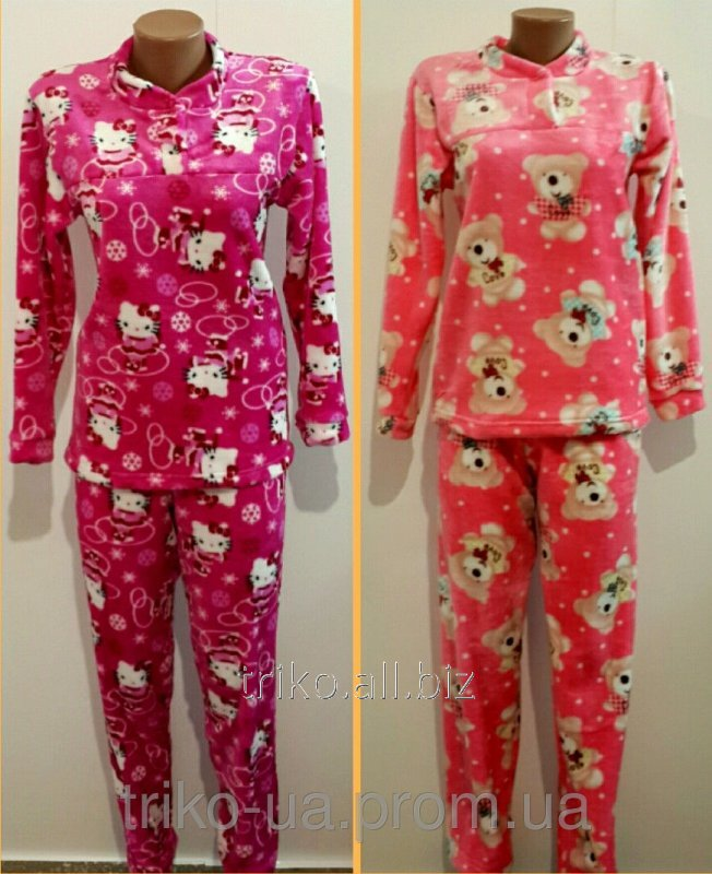 37e4dbed9b660 Женская махровая пижама 54 купить в Горишние Плавни