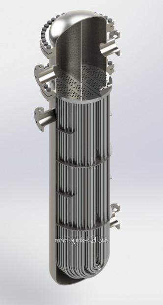 Кожухотрубный испаритель WTK DFE 1400 Калининград теплообменник битермический valmex