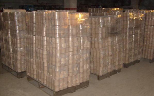 Купить Древесный брикет диаметром 65мм