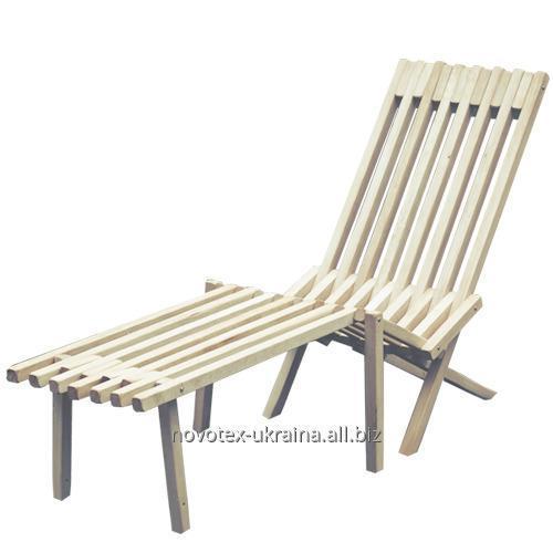 Acquistare Mobili da terrazza Chaid Longue in legno di carpino Chidrai