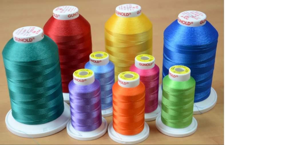 Нитки для машинной вышивки полиэстер