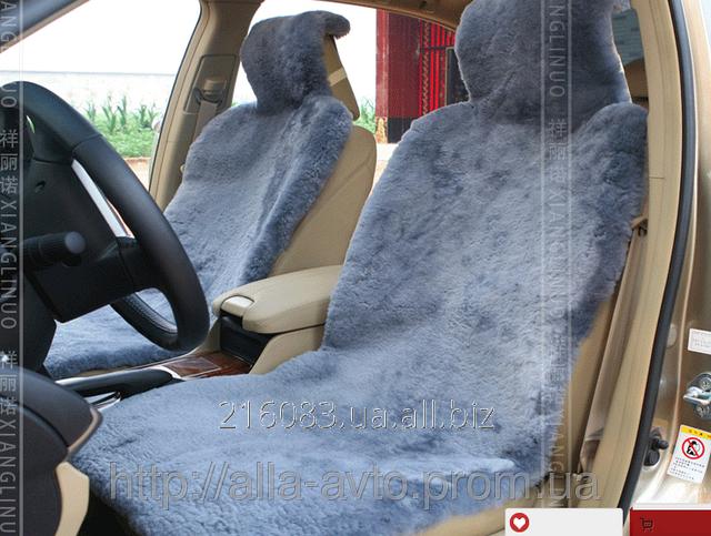 Купить Накидки меховые на сидения авто