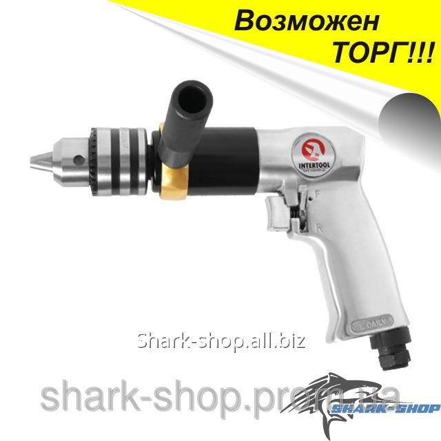 Купить Дрель пневматическая с реверсом патрон 1.5-13мм PT-0901