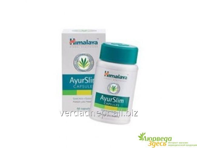 Аювердический препарат для контроля веса и очищения Himalaya AyurSlim