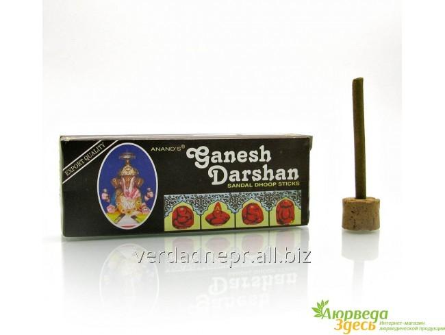 Благовоние Безосновное Ganesh Dhoop 12/уп