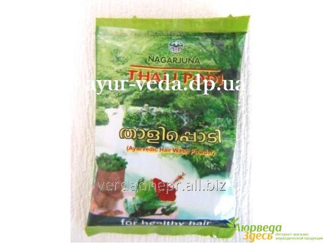 Травяной шампунь-маска для волос Тали Поди Thali Podi, Nagarjuna Herbal Concentrates Ltd.
