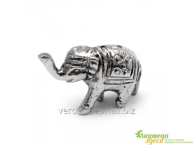 Подставка Под Благовония Слон Серебро 4х2,5х1,5 См