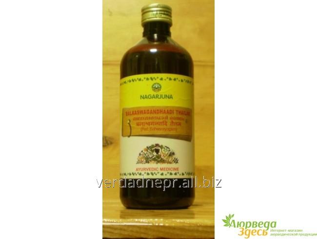 Аювердический препарат при Вата дизбаллансах и для укрепления иммунитета Balaaswagandhaadi tailam