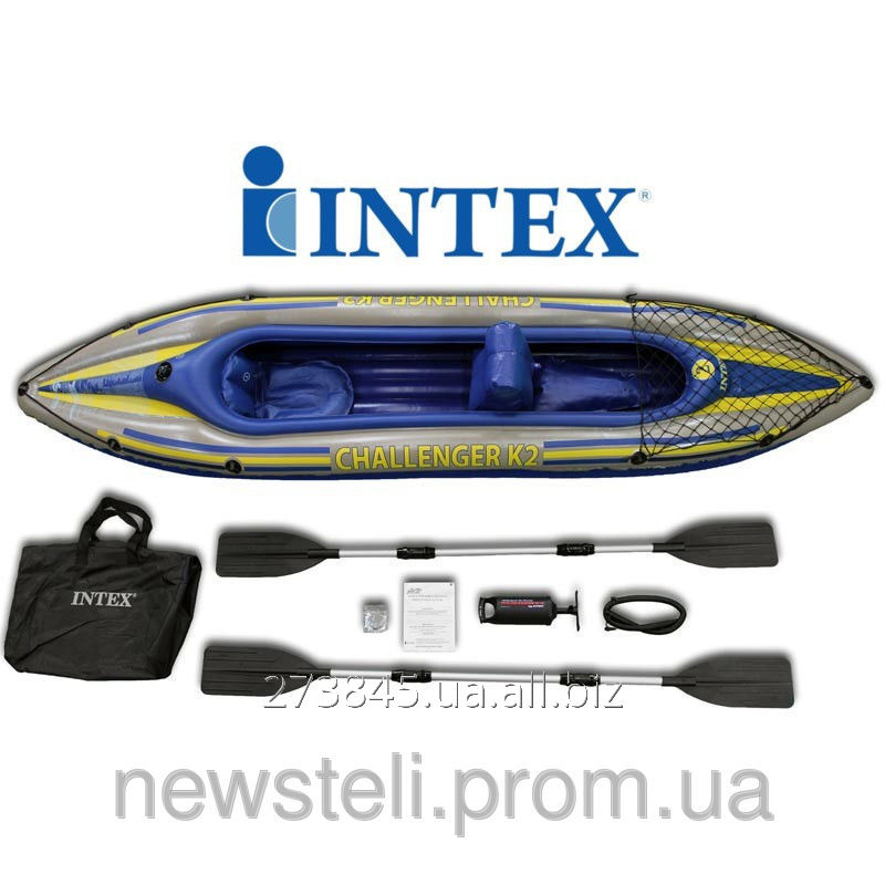 Inflatable Kayak Of Intex KAJAK CHALLENGER K2 INTEX Buy In Kiev