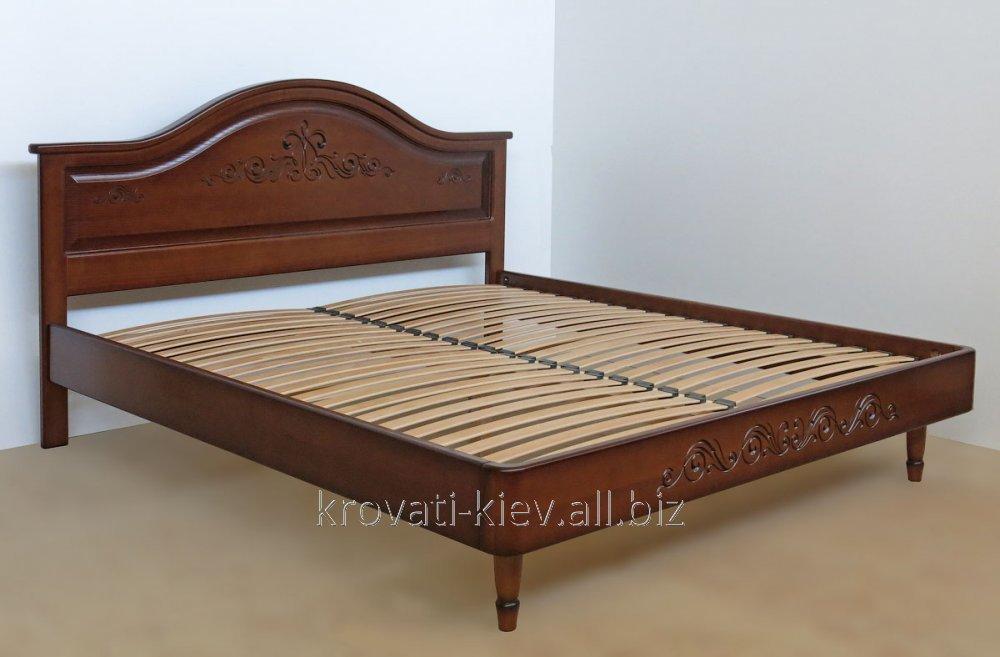 Продам кровать двуспальную из натурального дерева