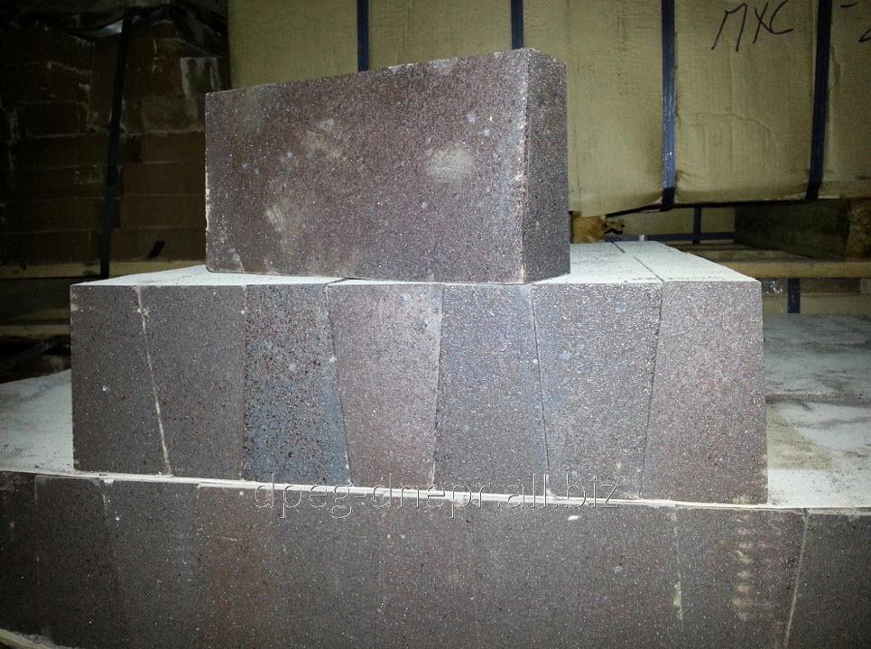 Buy Brick fire-resistant pereklazovy PHSU No. 38. Sizes of 380х150х96х90 mm