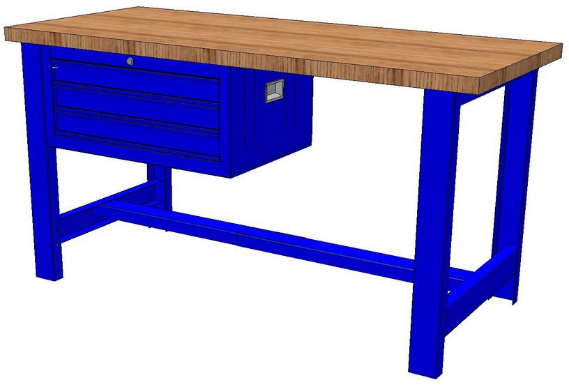 Купить Верстаки металлические, Инструментальная мебель.