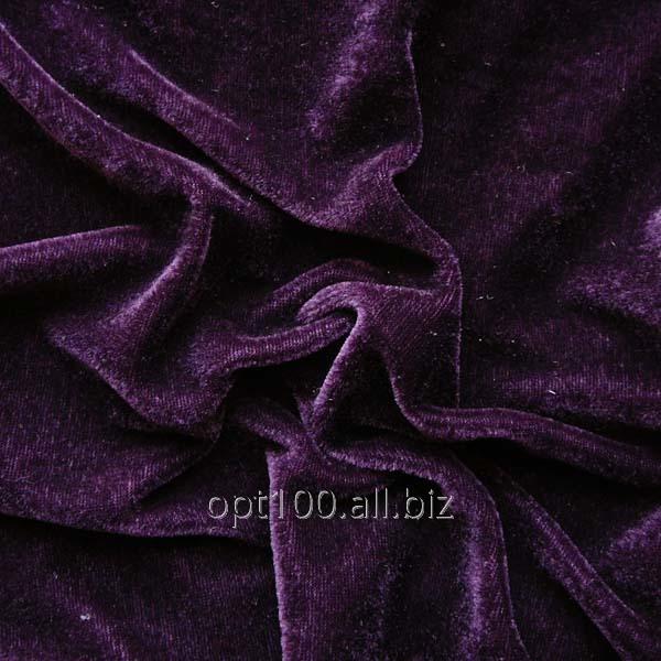 Велюр стрейч колір темно-фіолетовий В 26 купити в Харків f652833ba10ee