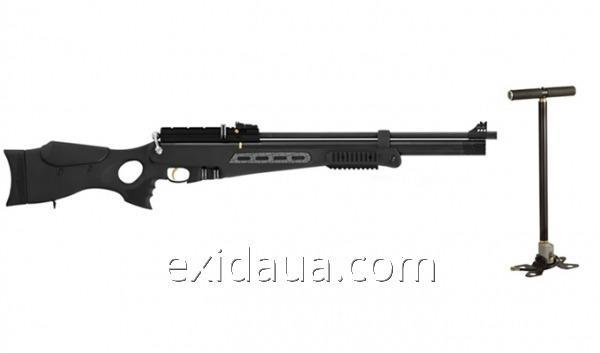 Air rifle of HATSAN BT65-RB-Elite with the pump HATSAN