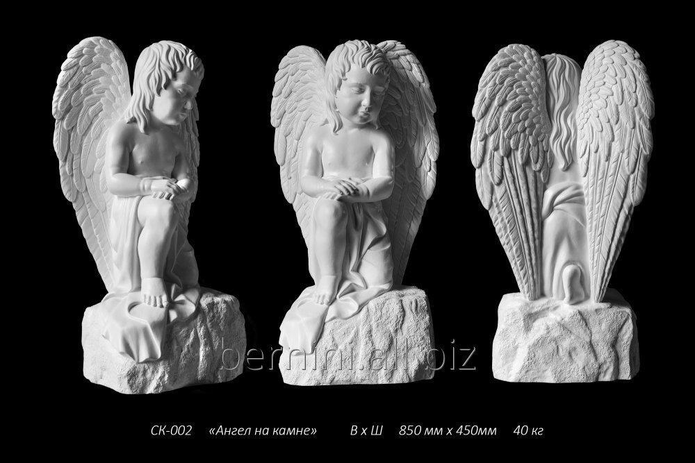 """Buy Sculpture """"Angel on a stone"""
