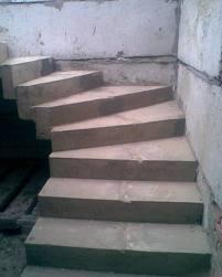 Лестничные марши, площадки, наборные ступени
