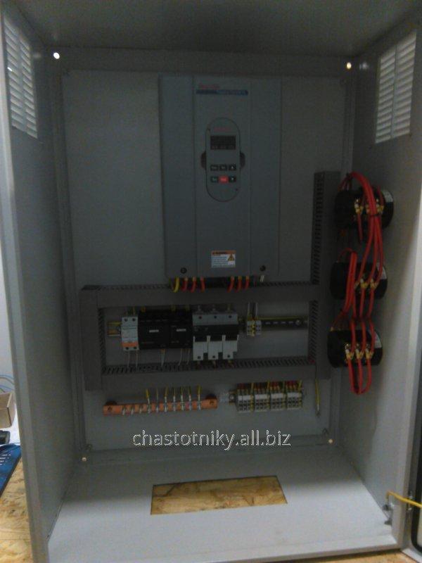 Шкафы управления для насосных станций 1 и 2 подъема
