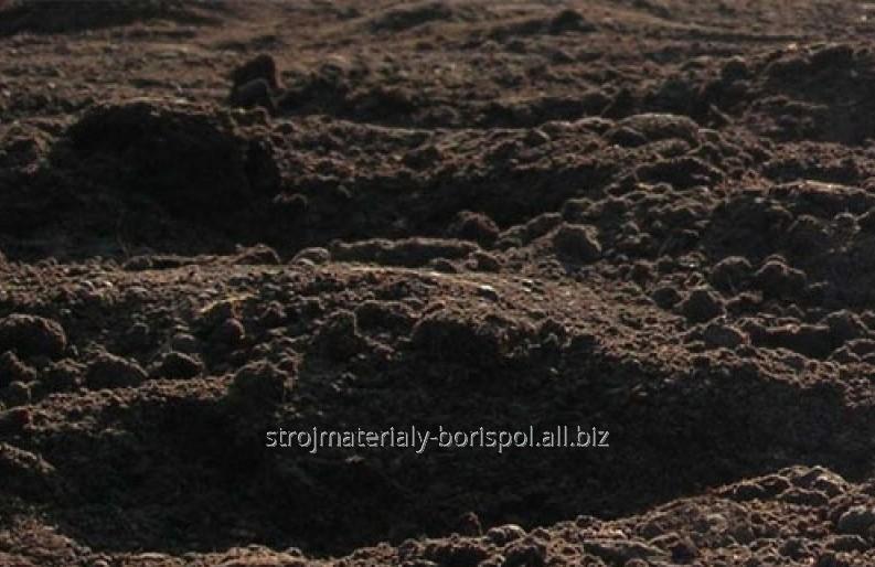 Купить Плодородный грунт (торф. чернозем) в Киеве и Борисполе