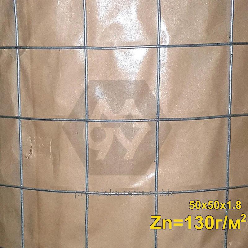 Сварная сетка ТМ Казачка 50,8*50,8*1,8 мм с повышенной защитой от коррозии (цинка до 130 г/м2)