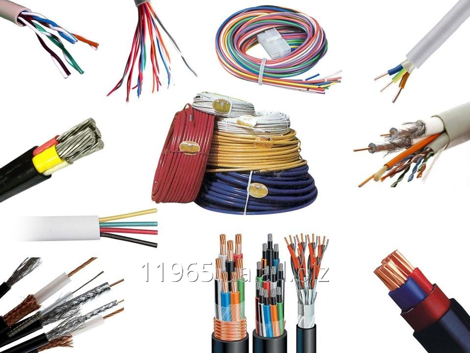 Electric cables, wires and cords buy in Kiev