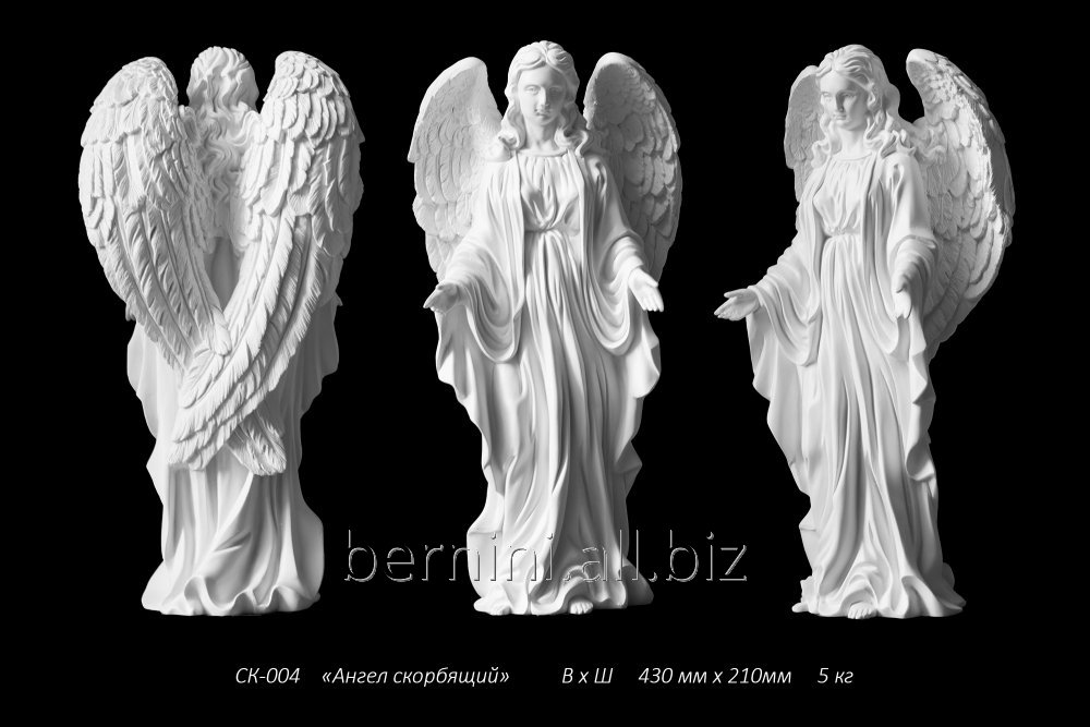 """Buy Sculpture """"The angel grieving"""
