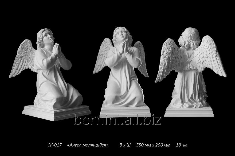"Buy Sculpture ""The angel praying"