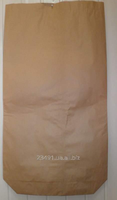 Мешки бумажные для семян 3-х слойные 25кг