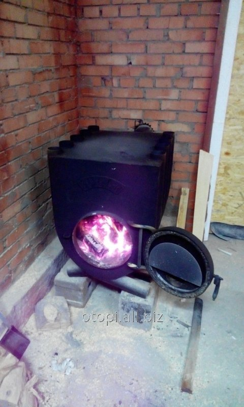 Печь булерьян (буллер) с варочной поверхностью 04-1200 м3