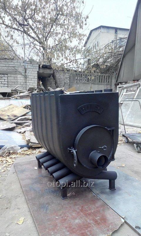 Отопительная печь Булерьян с подставкой, варочной поверхностью 00 - 125 м3