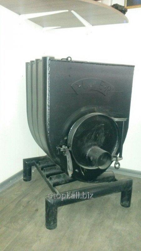 Твердотопливная печь булерьян 02 с подставкой (Bullerjan)