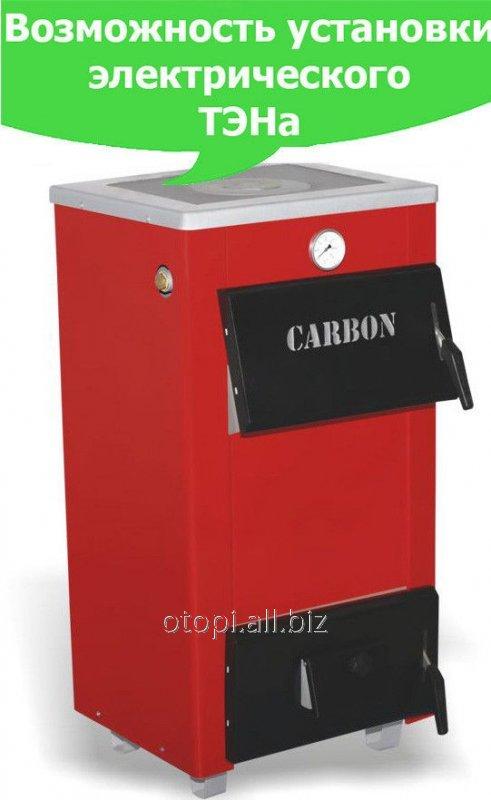 Котел водяной на твердом топливе Carbon КСТО-18П ( с плитой)