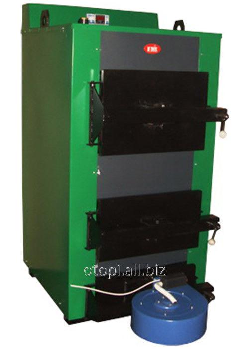 Котел твердотопливный КОТВ-50Т (турбированый)