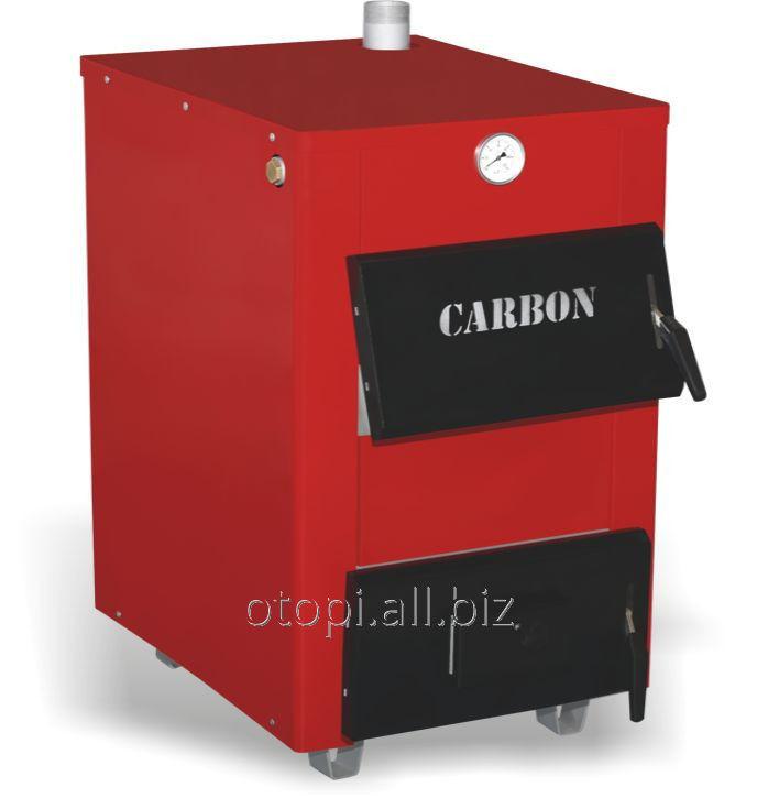 Твердотопливный водяной котел Carbon КСТО-25Д New -двухконтурный